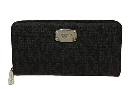 c29035d39c97 Amazon.com: Michael Kors Jet Set Travel Zip Around Travel Wallet ...