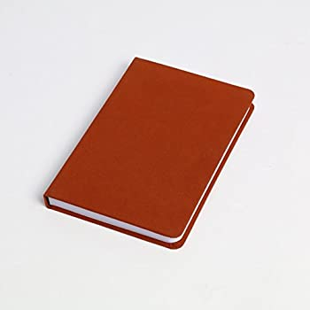 High-Quality Notebook Suede 252 Thick Pages - Ruled (Brown)