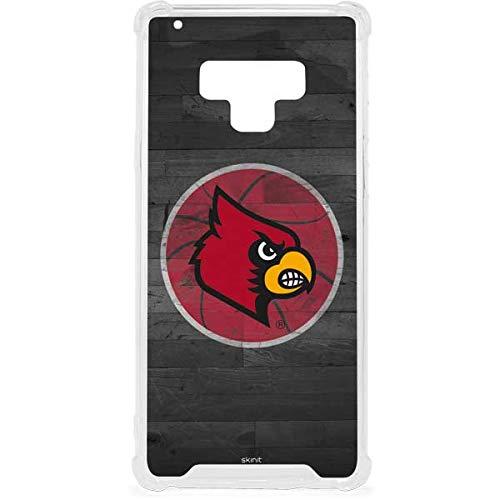 Skinit Louisville Cardinals Basketball Galaxy Note 9 Clear Case - Skinit Clear Case - Transparent Galaxy Note 9 Cover ()