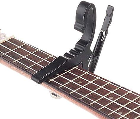 Hjyi Cejilla Guitarra,Metal Clip de Tono Folk Guitarra clásica ...