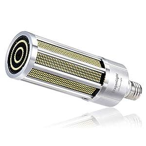 200W Super Bright Corn LED Light Bulb Fanless(1200 Watt Equivalent) – E40 Large Base Commercial Grade LED Lamp – 5000K…