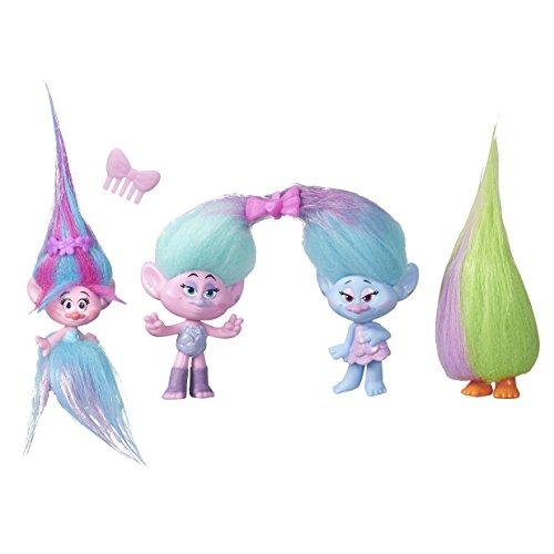 Trolls - B7363 - Pack de 4 - Poppy Shopping