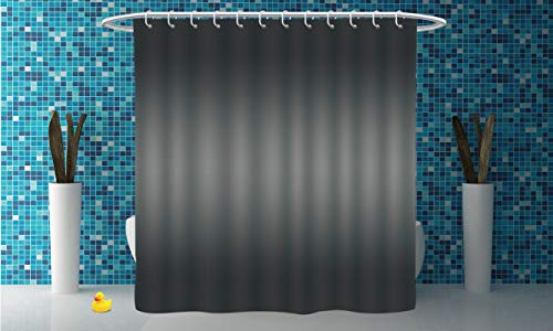 iPrint Personalized Shower Curtain [ Ombre,Fume Fog Dark