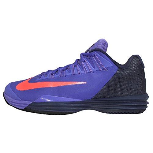 Nike - Zapatillas de tenis para hombre persion violet hot lava midnight navy 584