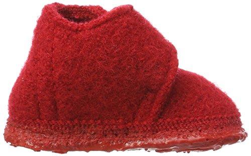 Nanga Unisex Baby Leila Lauflernschuhe Rot (Rot)