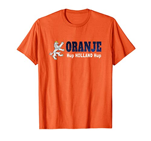 Netherlands Soccer Jersey Holland Football Orange Gift T-Shirt