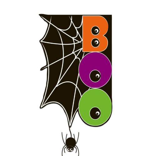 Halloween Spider Web Garden Flag