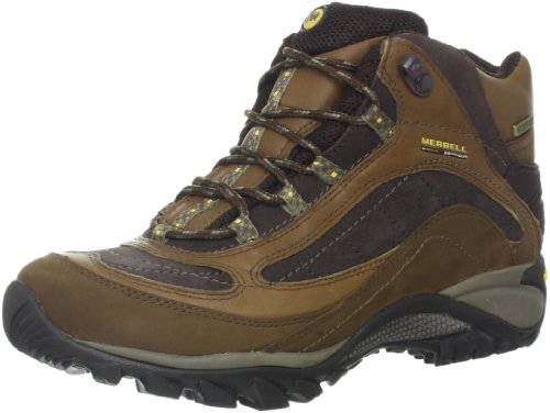 Waterproof Boot Women's Siren Brown Mid Merrell Hiking wgOxZq