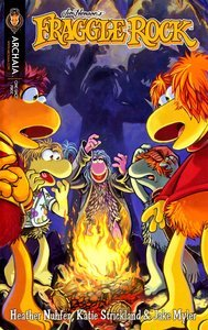 Fraggle Rock :The Monster From Outer Space! Halloween Mini-Comic (Fraggle Rock :The Monster From Outer Space! Halloween Mini-Comic)]()