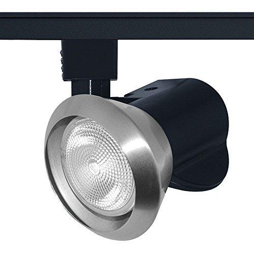 Juno Lighting T220SC Trac-Master Close-Up Line Voltage PAR20 Enclosed Lampholder, Satin Chrome