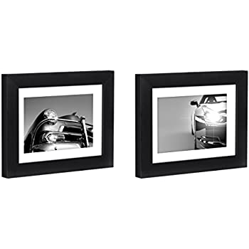 Amazon.com - Americanflat Two Black Tabletop Frames - Display ...