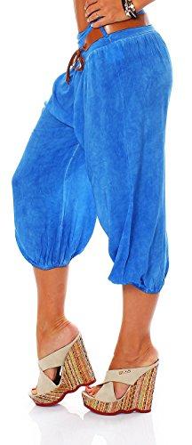 Italy Style - Pantalón - para mujer azul real