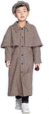 Disfraces para niños GJBXP Disfraces de Sherlock Holmes Disfraces ...