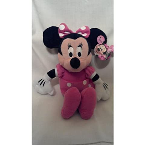 Just Play Plush Toys - Disney - MINNIE MOUSE (9 inch) - Bean Bag Plush Minnie Mouse