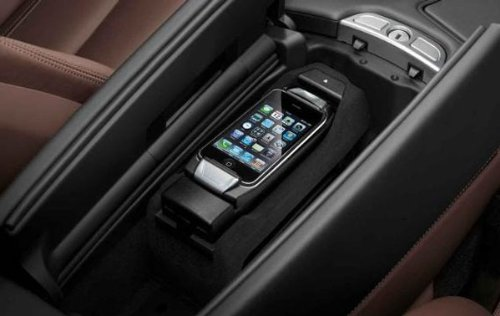 new bmw iphone 5 5s connect snap in adapter 2013 model. Black Bedroom Furniture Sets. Home Design Ideas