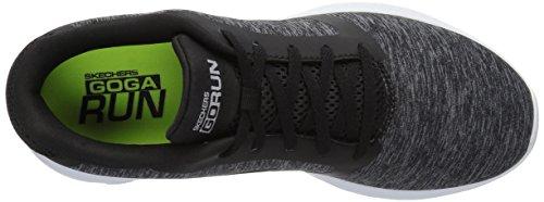 Run Go Men's Black Skechers White Sneaker Divert 600 EqTS5C