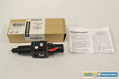 WILKERSON B08-02-FL00 125PSI 250PSI 1/4IN NPT PNEUMATIC FILTER-REGULATOR B315417 by Wilkerson