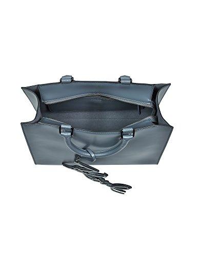 Karl Lagerfeld Borsa Shopping Donna 76KW3036THUNDER Pelle Grigio