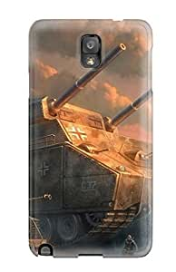 Galaxy Cover Case - Sci Fi Protective Case Compatibel With Galaxy Note 3