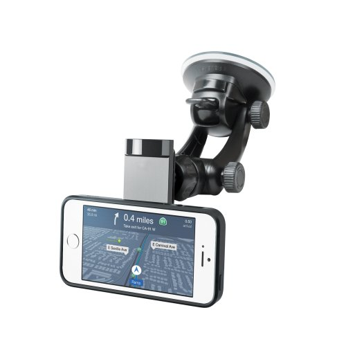 iLuv Selfy Cellphone Car Mount - Retail Packaging - Black