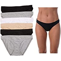 6-Pack Just Intimates Brief Panties (Various Sizes)