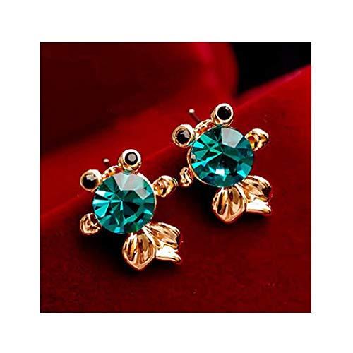 Cute Adorable Goldfish Earrings Studs