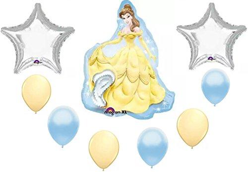 Amazon Disney Princess Belle Party Balloon Decoration Kit Toys New Princess Belle Decorations