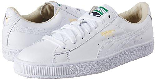 white Mixte 17 Basses Lfs Classic Adulte white Puma Blanc Basket xqZw8wS