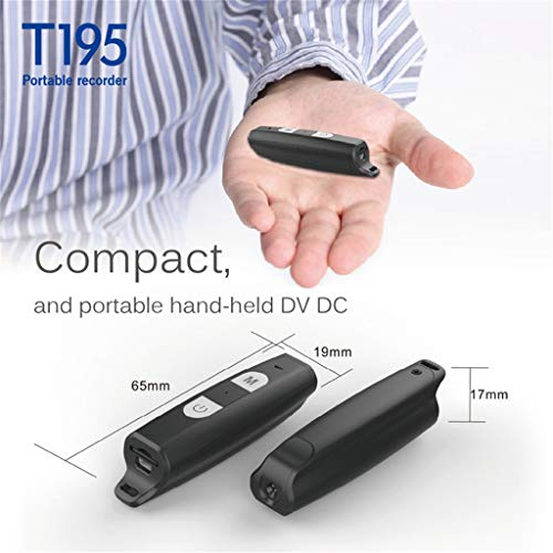 HowLoo Small Portable Camera HD 1080P DVR Outdoor DV Video Recorder T195