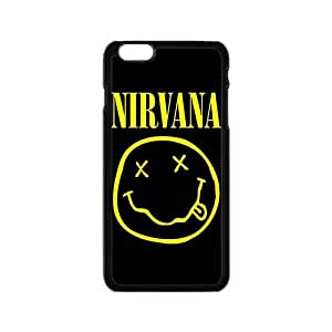 Custom Rock Band Nirvana Logo Phone Case Protective Case For iPhone 6 and iPhone 6S