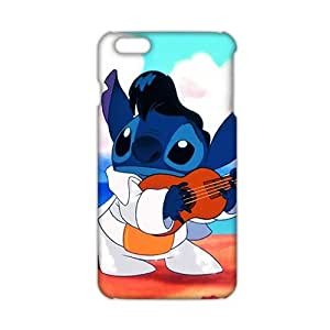Angl 3D Case Cover Cartoon Lilo & Stitch Phone Case for iPhone6 plus