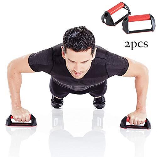 SVNA Soporte Push-up Tipo H Push-Up Soporte Estable Antideslizante Ejercicio para el hogar Ejercicio Núcleo Hombro Músculos...