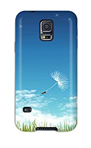 Awesome Case Cover/galaxy S5 Defender Case Cover(fresh Dandelion )