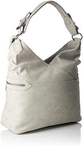 Lacie Shoppers Fritzi Preußen Metal aus bolsos hombro y Mujer Gris de EREqf