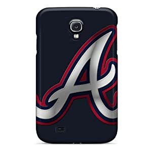 High Quality Hard Phone Cases For Samsung Galaxy S4 (AFb20035jSPZ) Allow Personal Design Trendy Atlanta Braves Series