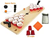 Mini Beer Pong Game or Juice Pong Game SHOTS  with SPARE and BONUS pieces Classic Adults Party Sports DRINKING GAMES