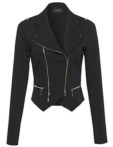 Zip Moto Jacket - 5