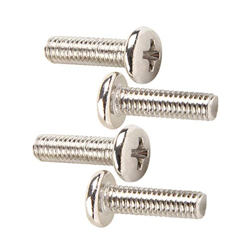 uirend Hardware Nails Fasteners Crosshead Mechanical Screws - Nickel Plating Small Cross Screw Bolts M1.7 M2 M2.5 M2.6