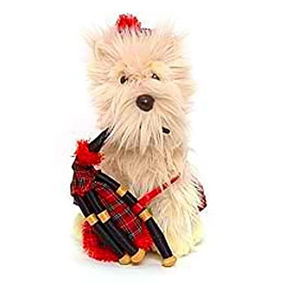 Disney Exclusive Santa Paws 15 Inch Plush Figure Haggis: Toys & Games