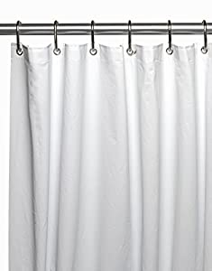 clean home peva non toxic extra long shower curtain liner 72 wide x 96 long. Black Bedroom Furniture Sets. Home Design Ideas