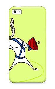 Awesome Design Earthworm Jim Hard Case Cover For Iphone 5c