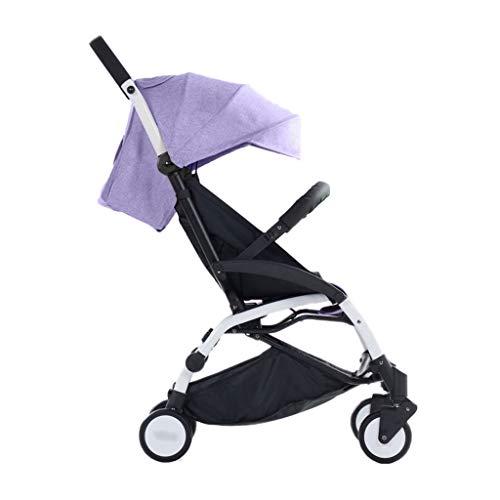 Comfortable Pushchair Baby Strollers Ultralight Easy Pocket Pushchairs Prams Portable Strollers Buggies Folding Can Sit Children Kids Travel Pushchair