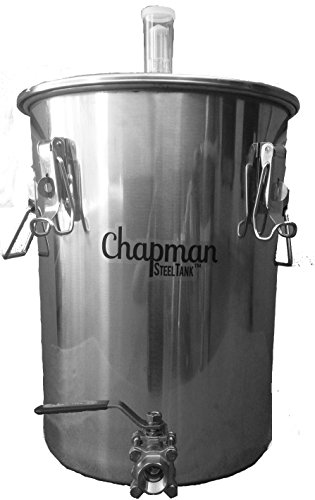 Chapman Brewing Equipment 7 Gallon Stainless Steel UniVessel Brew Fermenter (Stainless Steel Brewing Equipment)