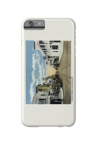Key West, Florida - Duval Street West Scene (iPhone 6 Plus Cell Phone Case, Slim Barely - Florida Street Duval