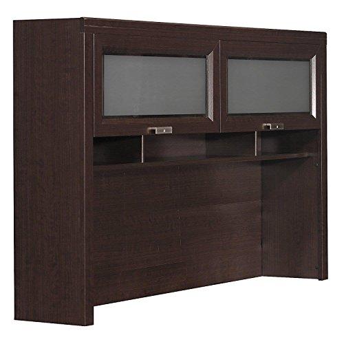 Mocha Tuxedo Desk L-shaped Cherry (Bush Furniture Tuxedo Hutch for L Shaped Desk in Mocha Cherry)