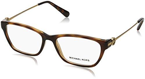 Michael Kors DEER VALLEY MK8005 Eyeglass Frames 3006-52 - Dk Tortoise MK8005-3006-52 (Glasses Frames Michael Kors)