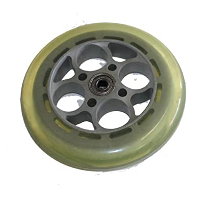 5-1/2 Front Wheel with Solid Urethane Tire (5.5 inch) for Electric Kid scooters : Sports & Outdoors