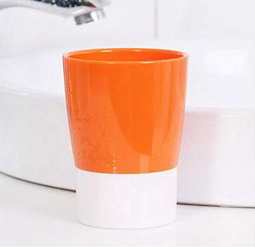 Creative Simple Multiple Uses Candy Colors Couples Cup - Orange