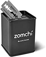 Zomchi Razor Blade Bank for Safety Razor Blade Storagement, Used Double Edge Safety Razor Blade Disposal Case