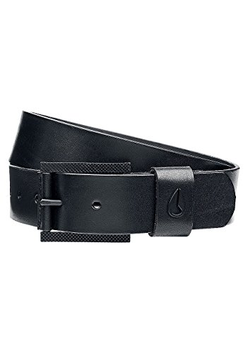 Nixon Americana Leather Belt Black Men's XL (Nixon Embossed Belt)